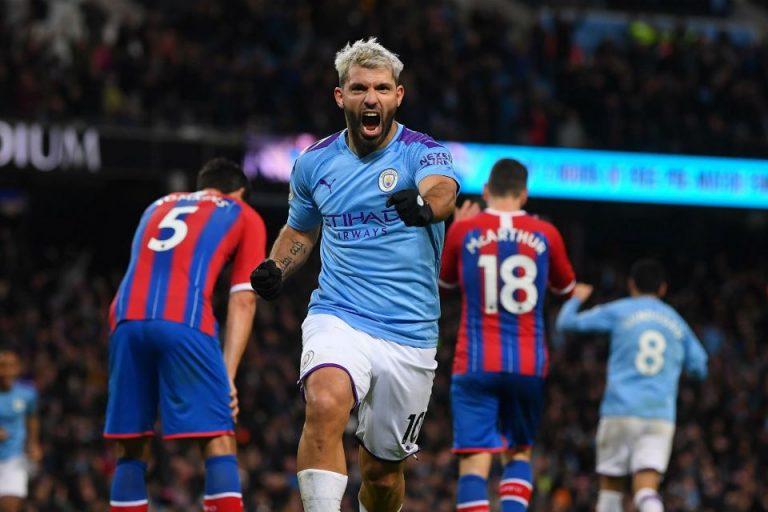 Sepasang Gol Aguero Belum Cukup Kunci Kemenangan City