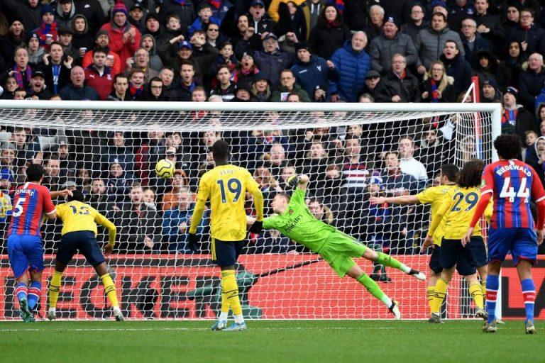Crystal Palace Paksakan Hasil Imbang Atas Arsenal