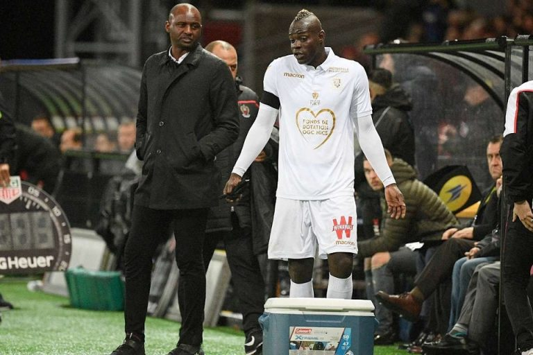 Vieira Bagikan Pengalamannya Melatih Balotelli
