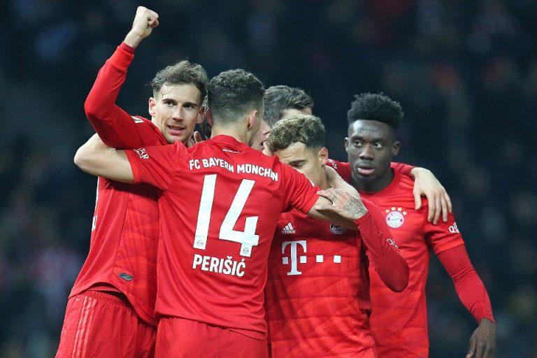 Berpesta di Olympia Stadium, Bayern Munchen Buntuti RB Liepzig
