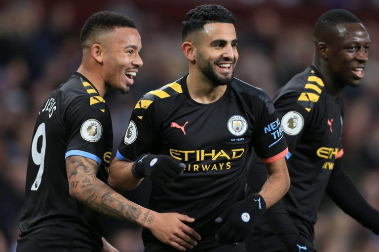 Pukul Aston Villa 1-6, City Kembali Pantau Liverpool