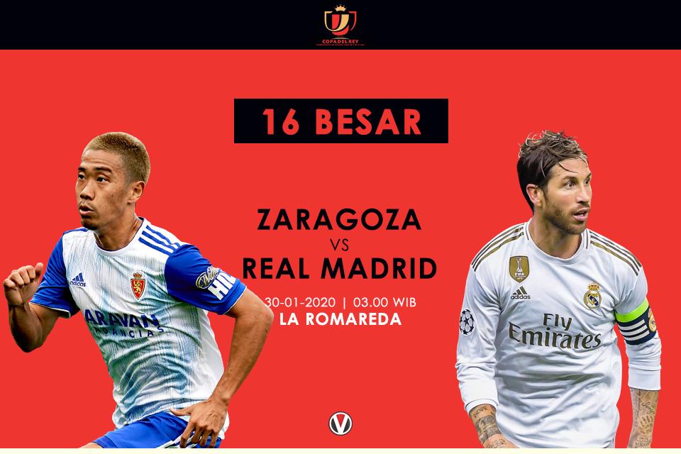Prediksi Zaragoza vs Real Madrid: Ajang Unjuk Kemampuan Para Pemain Pelapis