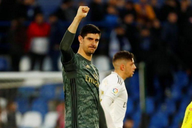 Courtois Ungkap Bagimana Cara Madrid Meredam Barcelona
