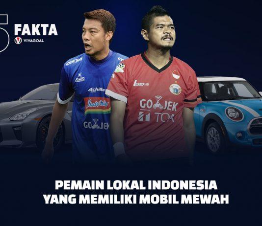 5 Pemain Lokal Indonesia yang Memiliki Mobil Mewah