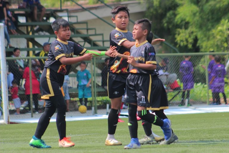 DBS Lion King dan SSB Boyke Adam Harus Puas Berbagi Poin di B'League U-10