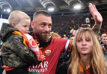 Daniele De Rossi And Child