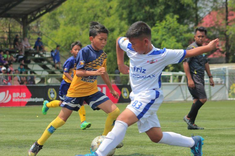Sempat Unggul, Young Tigers U-10 Takluk dari Friz Soccer