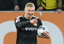 Debut, Haaland Langsung Cetak Rekor Bersama Dortmund