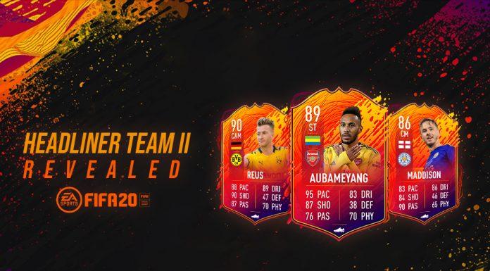 Nama-Nama Besar yang Bercokol di Headliner Team II FIFA 20 FUT
