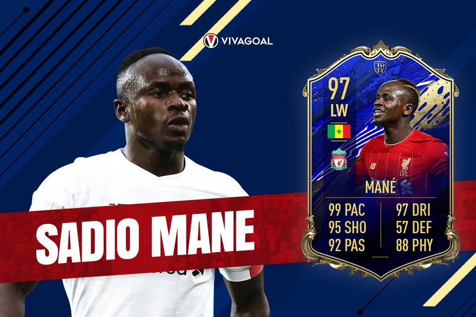 Mendedah Card Team of the Year Sadio Mane di Game FIFA 20