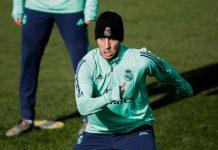 Jelang El Derbi Madrileno, Akankah Hazard Comeback