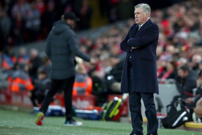 Kalah dari Liverpool, Ancelotti; Everton Bermain Buruk!