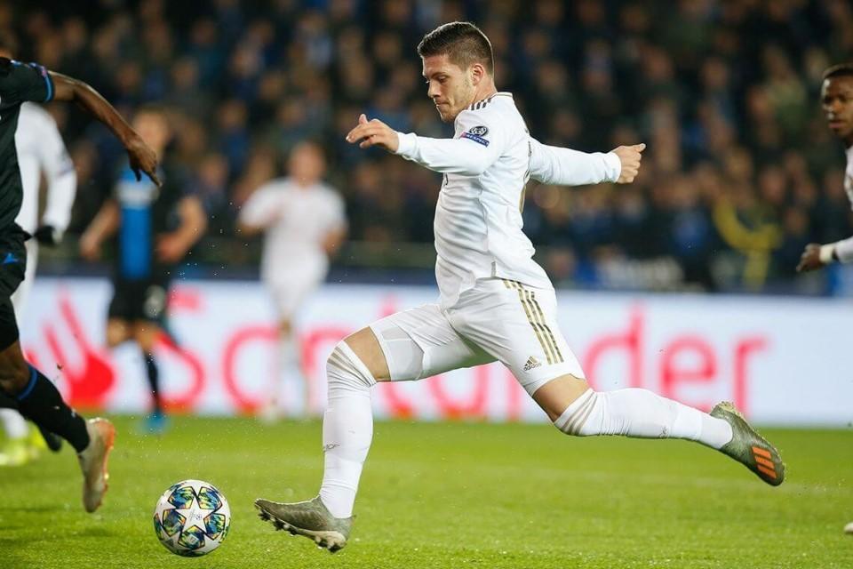 Keran Gol Luka Jovic Masih Mampet, Zidane Masih Optimis