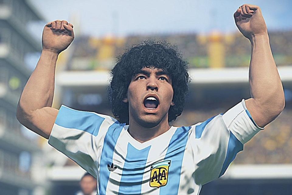 Diego Maradona Bisa DImainkan di eFootball PES 2020