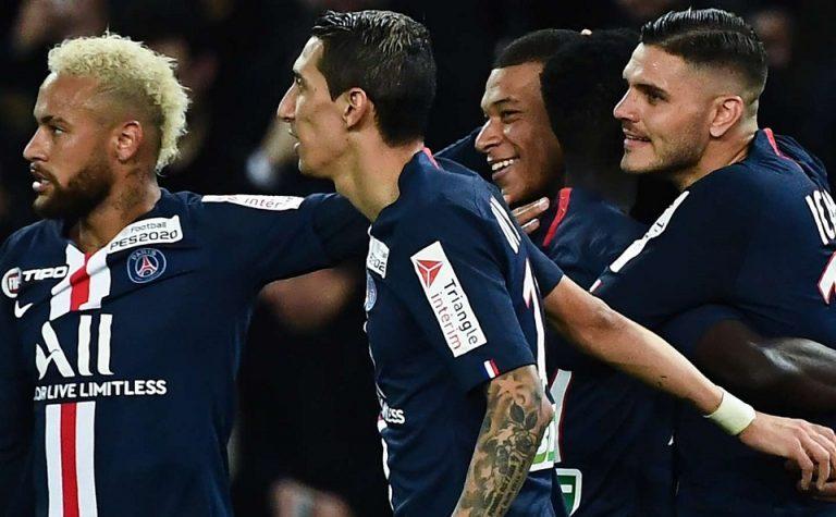 Mbappe Tolak Lini Serang PSG Disebut Fantastic Four