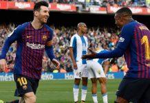 Rekor-Rekor Tendangan Bebas Messi di Derby Catalan
