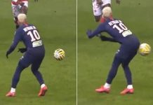 Neymar Pamer Skill