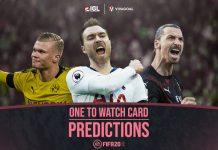Prediksi One To Watch Card pada FIFA 20 FUT