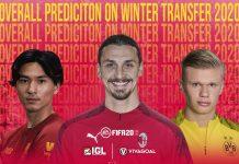 Prediksi Overall Rating Pemain di FIFA 20 FUT pasca Bursa Transfer Musim Dingin