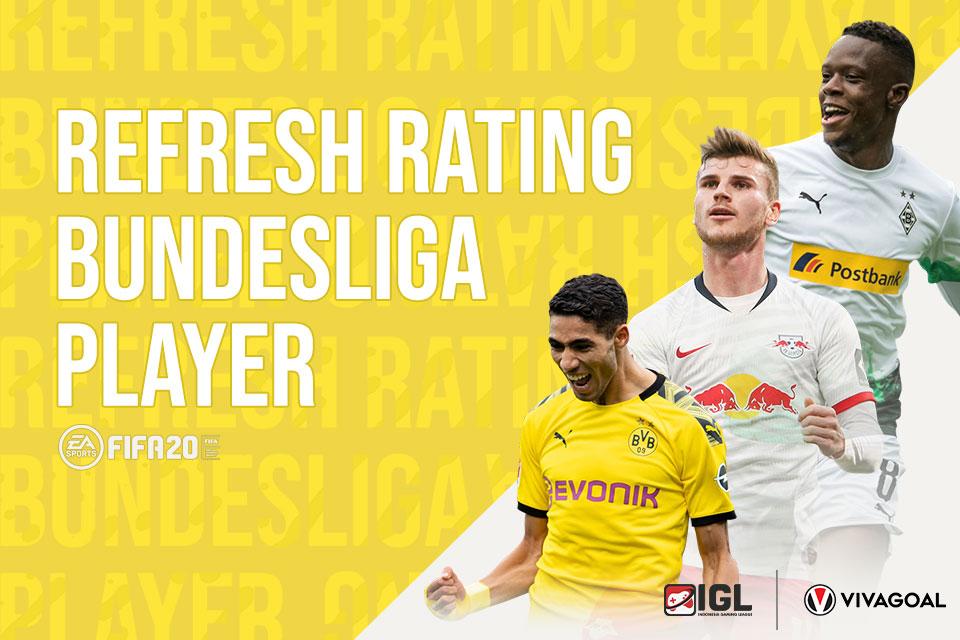 Deretan Pemain Bundesliga yang Mendapatkan Penyegaran Rating di FIFA 20