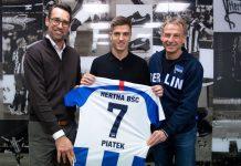 Resmi! Hertha Berlin Dapatkan Krzysztof Piatek Dari AC Milan