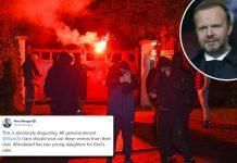 Rumah Ed Woodward Diserang Fans Man United