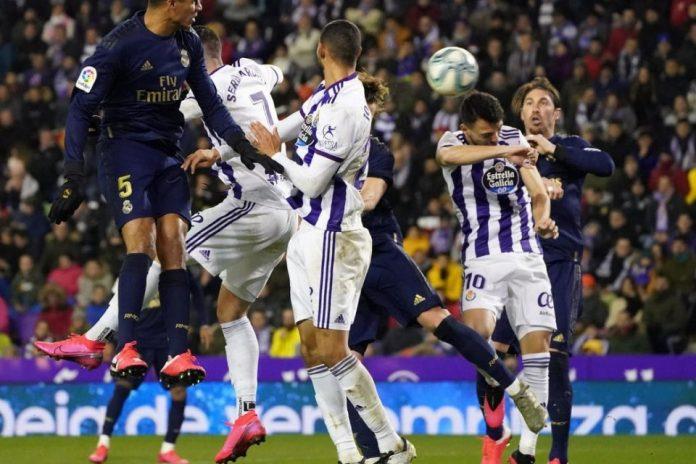 Satu Gol Nacho Sukses Bawa Madrid ke Puncak Klasemen