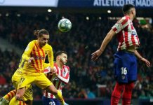 Supercopa de Espana Head to Head Atletico Madrid vs Barcelona