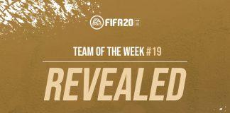Terkuak Sudah Team of the Week Pekan ke-19 FIFA 20