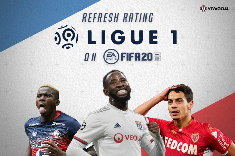 Deretan Pemain Ligue 1 yang Mendapatkan Refresh Rating di FIFA 20