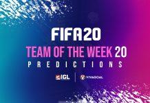 Prediksi Team of the Week pekan ke-20, Siapa Berjaya?