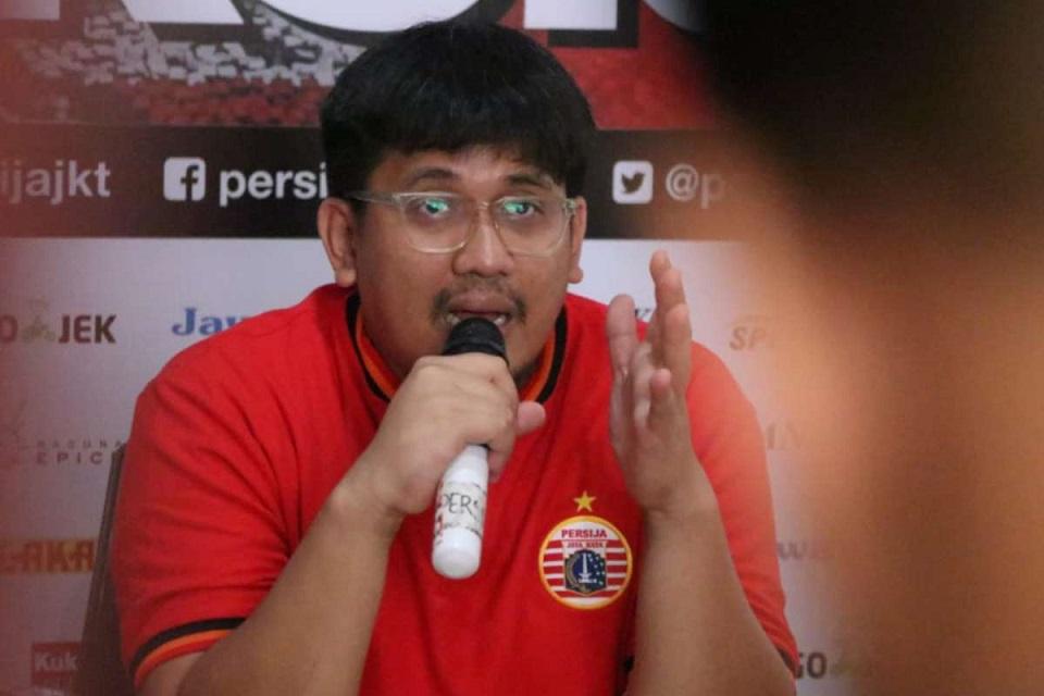 Dicky Soemarno Ketua Jakmania
