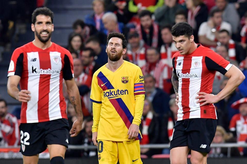 Fans Man City Gaungkan Tagar #WelcomeMessi Usai Barcelona Terdepak