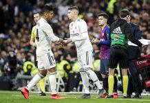 Federico Valverde vs Casemiro di Real Madrid
