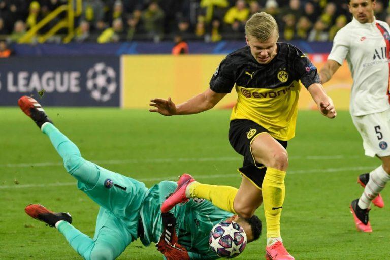 Erling Haaland Benamkan PSG di Liga Champions