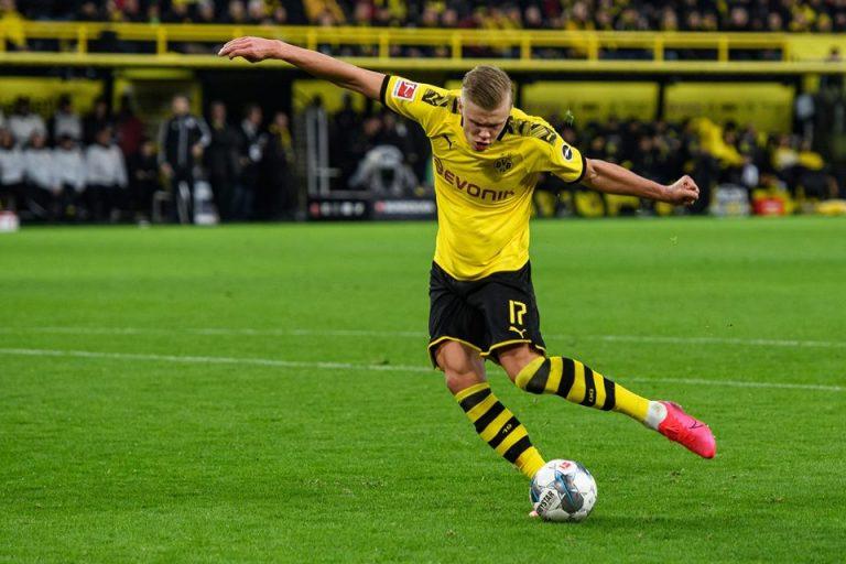 Raiola Bocorkan Masa Depan Erling Haaland Bersama Borussia Dortmund