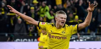 Haaland Bakal jadi The Next Lewandowski di Dortmund