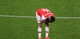 Hancur Leburnya Aubameyang Usai Arsenal Tersingkir dari Liga Europa