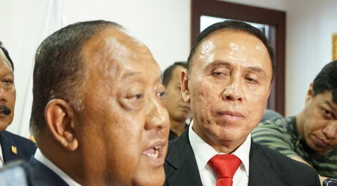 Ketua KONI dan Ketum PSSI
