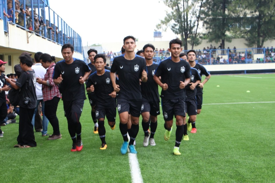 Laga Ujicoba avs Sriwijaya FC Digelar Tanpa Penonton