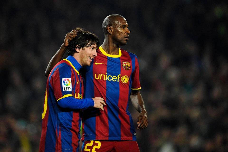 Lionel Messi dan Abidal