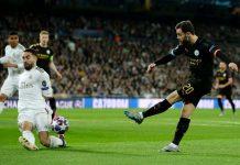 Madrid vs City Diwarnai Kartu Merah Ramos, Madrid Keok 1-2 Di Bernabeu