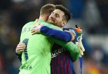 Panas! Messi dan Ter Stegen Berantem Saat Sesi Latihan