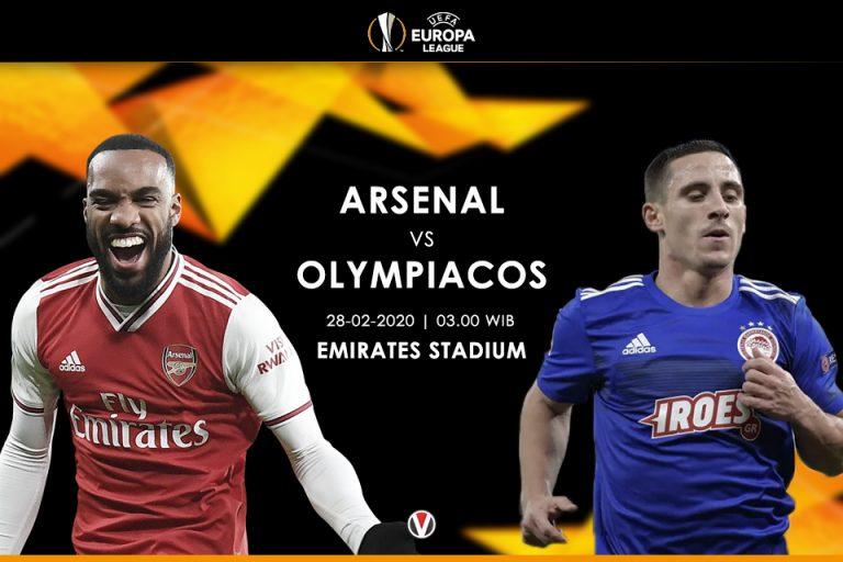 Prediksi Arsenal Vs Olympiakos: The Gunners Punya Modal Kuat