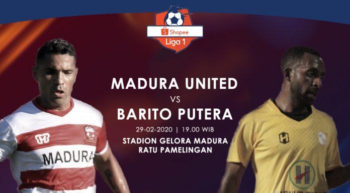 Prediksi Madura United vs Persik Kediri Jaga Rekor Tak Terkalahkan