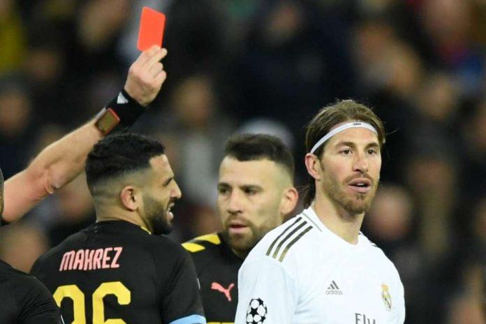 Kartu Merah Lagi, Sergio Ramos Catatkan Rekor Buruk di UCL!