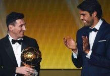 Ricardo Kaka dan Lionel Messi