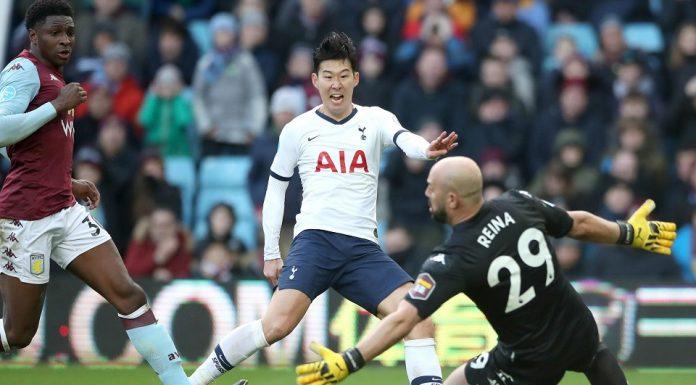 Son Heung-min Tottenham Hotspur