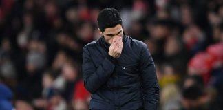 Sungguh, Arteta Kecewa Berat Dengan Arsenal