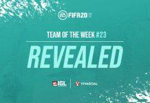 Team of the Week Pekan ke-23 yang Merobek Prediksi
